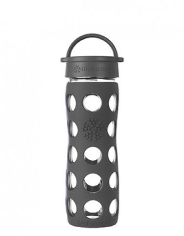Lifefactory 16 oz / 475 ml Glass Bottle in Carbon