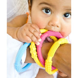Lifefactory Silicone Teethers (Pack of 2) in Pink/Lilac