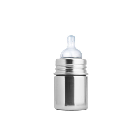 Pura Kiki 5 oz / 150 ml Infant Bottle in Natural Stainless