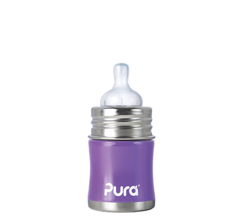 Pura Kiki 5 oz / 150 ml Infant Bottle in Lavender