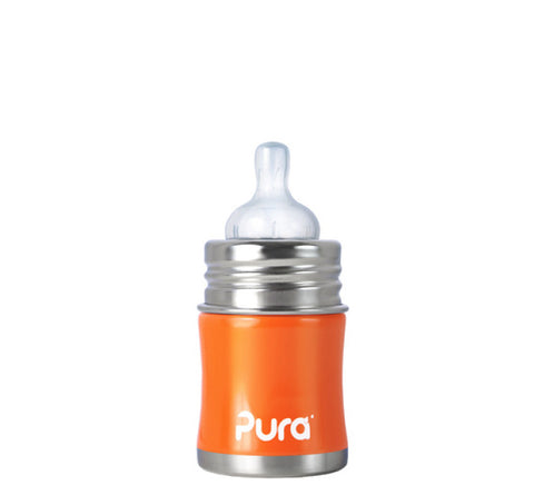 Pura Kiki 5 oz / 150 ml Infant Bottle in Orange
