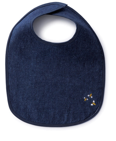 bambu Hemp Denim Bib