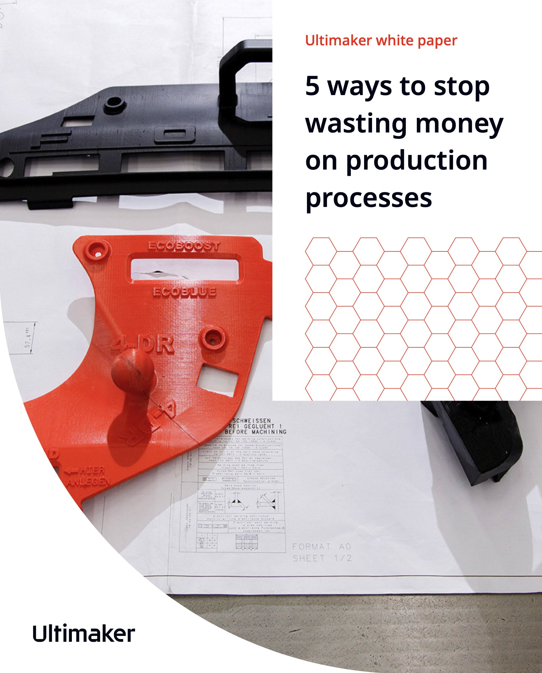 5 ways to stop wasting money on production processes white paper front cover