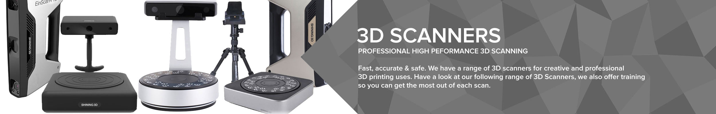 Professional High-Performance 3D Scanners in the UK | 3DGBIRE