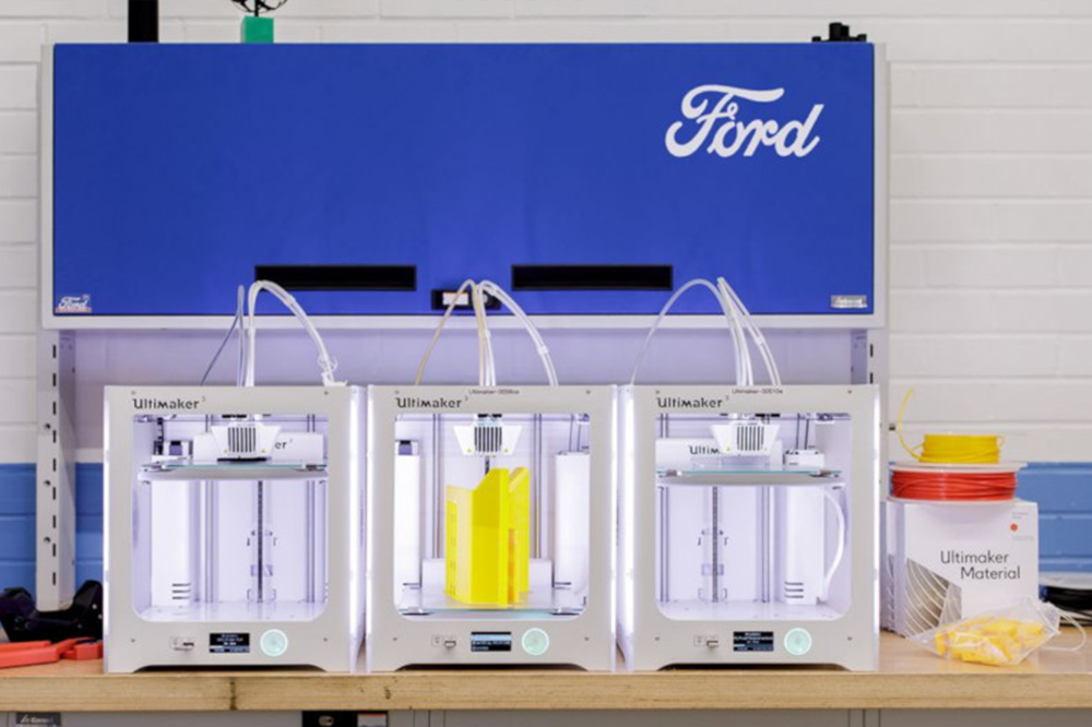 Ford Motors Ultimaker 3D Printing
