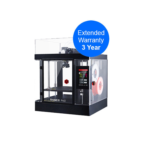 Raise3D Pro2 3year warranty