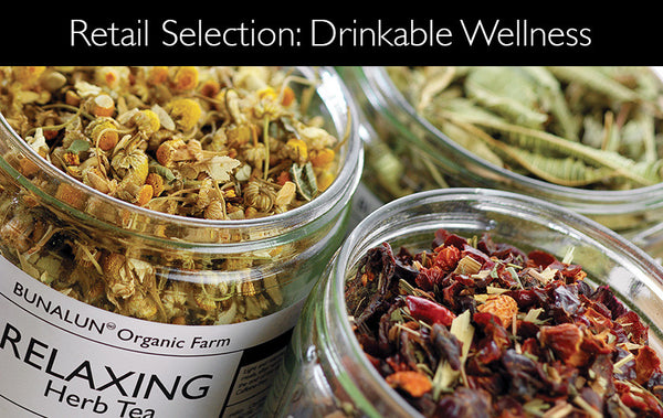Retail Selection: DRINKABLE WELLNESS
