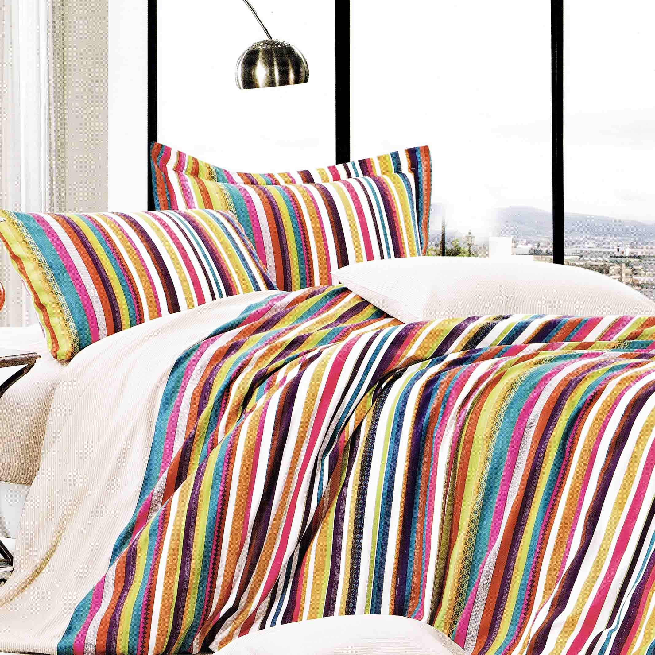 Palatial Stripes - Rainbow