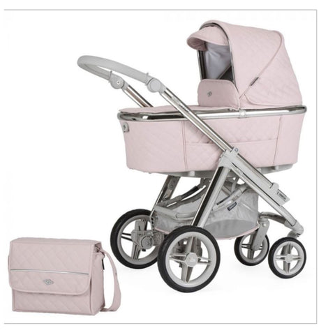 Bebecar Via soft pink + carseat