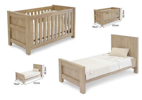 Babystyle Bordeaux cotbed
