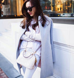 Heather Grey Boyfriend Coat