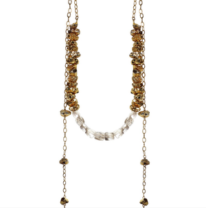 Louloute Necklace by Charme Silkiner
