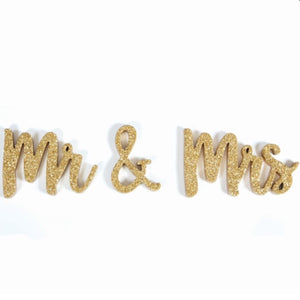 Mr. and Mrs. Table Talker by 8 Oak Lane