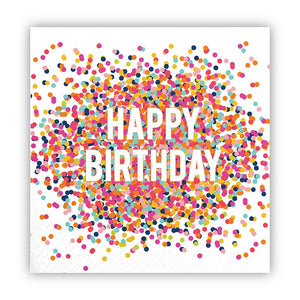 Birthday Confetti Napkins by Slant