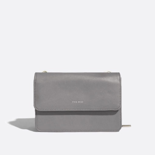 Jane 2-in-1 Wallet Purse Grey/Nubuck