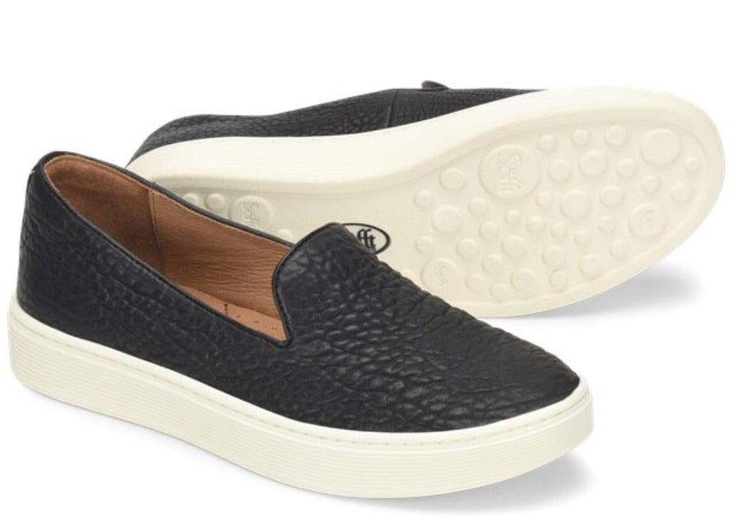 Somers slip-on black by sofft
