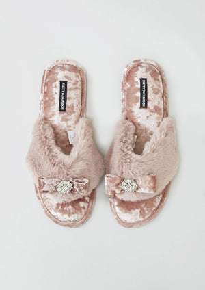 Amelie slipper by Pretty You London
