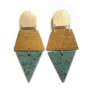 Kincaid Earrings by Betsy Pittard Designs