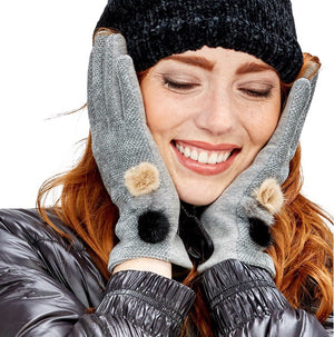 Chenille Gloves by 2 Chic