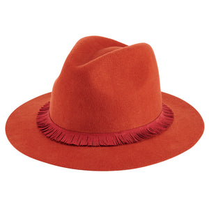 Rust Fedora by San Diego Hat Co.