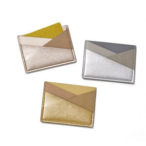 Textured Credit Card Holder