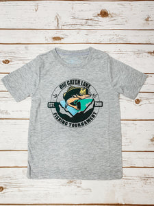 Big Catch Lake Kid's Graphic Tee