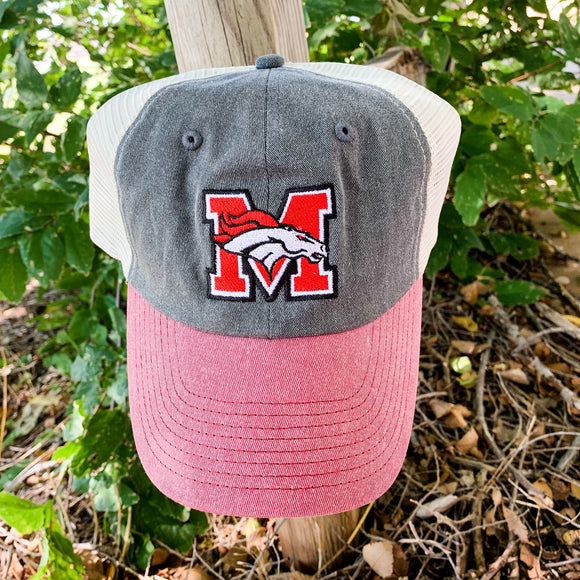 Mustang Distressed Hat