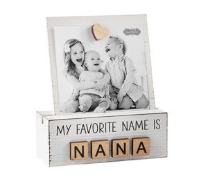 NaNa Letter Photo Block