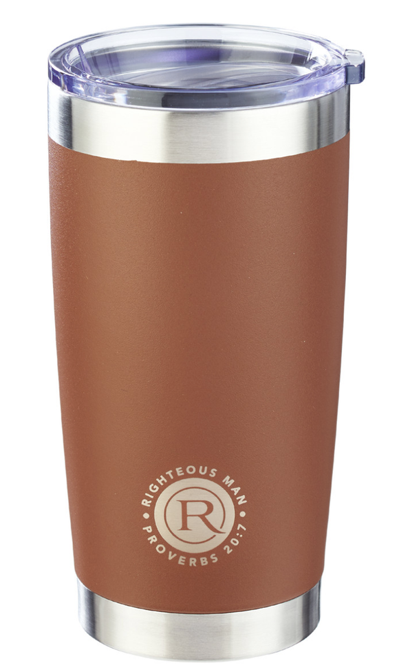 The Righteous Man Stainless Steel Mug Travel