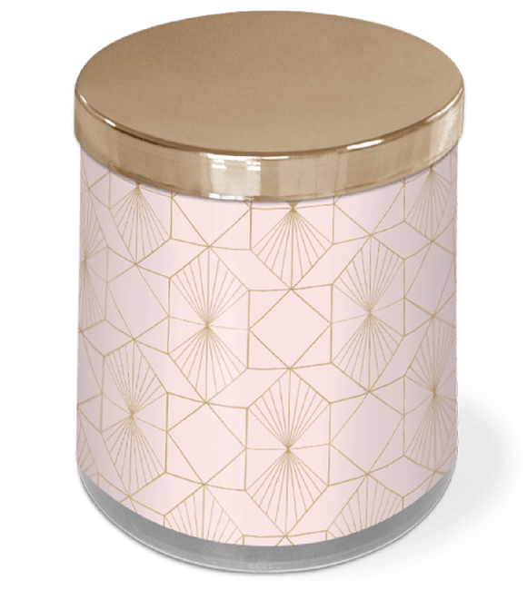 Deco Rays Candle