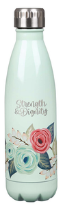 Strength & Dignity Stainless Steel Water Bottle