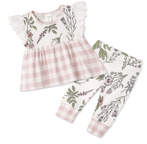 Prairie Flowers Top & Bottom Set