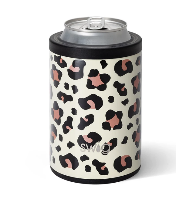 Swig Luxy Leopard Can Cooler