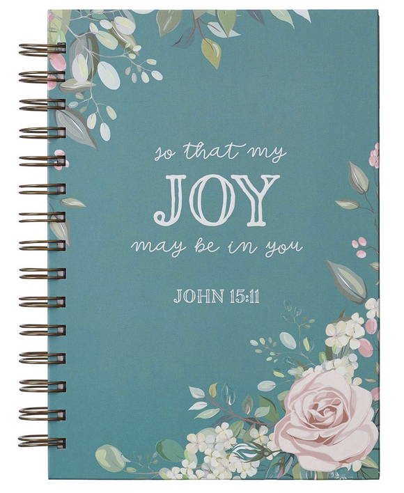 That My Joy May Be In You Large Journal Wirebound