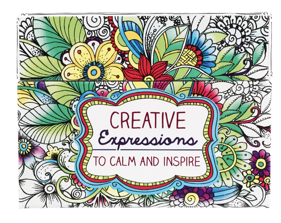 Creative Expressions- Cards To Color and Share