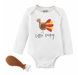 Turkey Knit Rattle Set