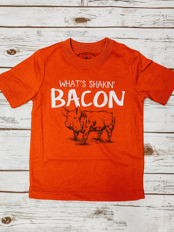 What's Shakin' Bacon Kid's Graphic Tee