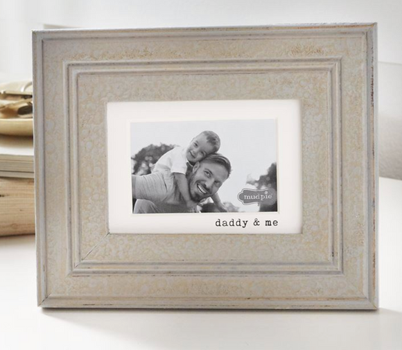 Daddy & Me Gray Frame