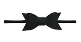 Skinny Leather Bow