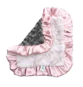 Ruffled Baby Lovie Blanket