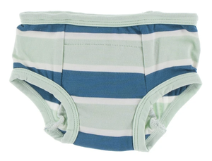 Culinary Art Seaside Cafe Stripe Training Pants