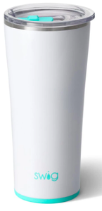 22 oz Tumbler- Diamond White