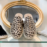 Taffy Metallic Leopard Slip On Shoes