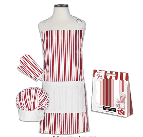 Classic Striped Kid's Cooking Set