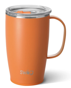 Swig Matte Orange 18oz Mug