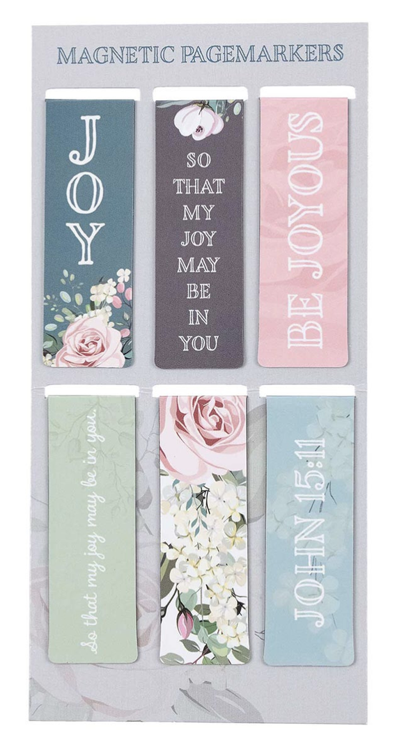 Joy May Be In You - Magnetic Page Markers