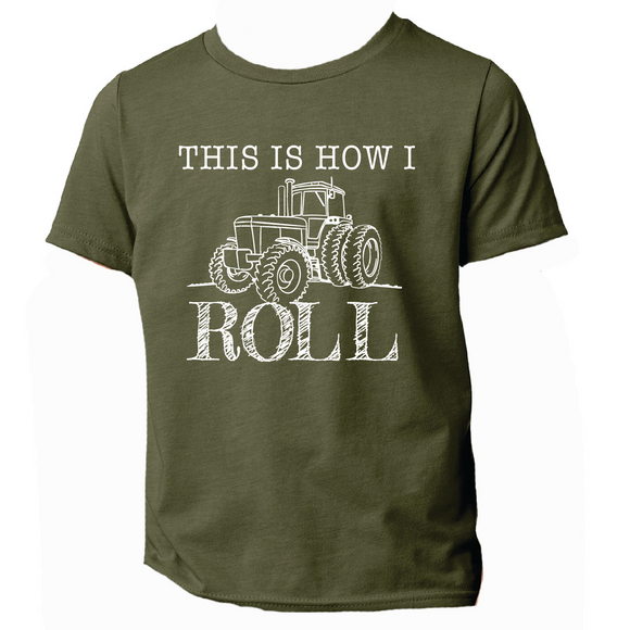 This is How I Roll Boys T-Shirt
