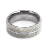 Lena Style Deer Antler Tungsten Wedding Band