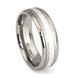 cool rings in titanium vertical view