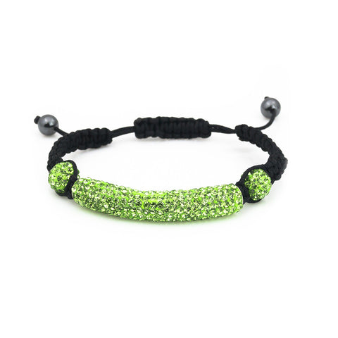 Neon shamballa bracelet for women